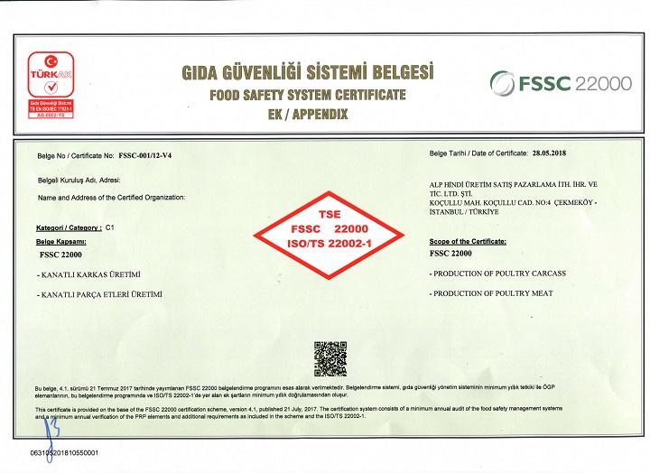 FSSC 22000 | Alphindi